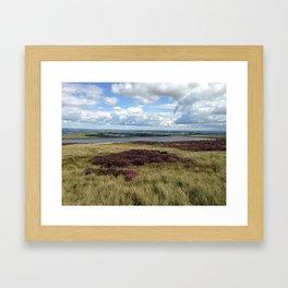 Moorland Framed Art Print