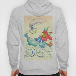 The Genius and the Lamp Hoody