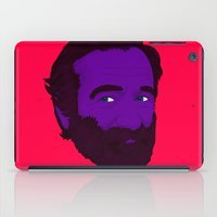 robin williams iPad Cases featuring Robin Williams by Cédric Day-Myer