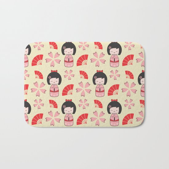 Mini Geisha Bath Mat