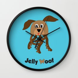 Jelly Woof Wall Clock