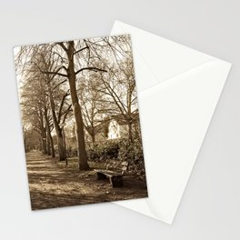A lonely world Stationery Cards