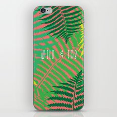 WILD & FAB iPhone & iPod Skin