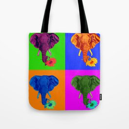 ANDY ELEPHANT Tote Bag