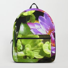 Purple Lilly Backpack