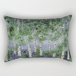 Summer Aspens Rectangular Pillow