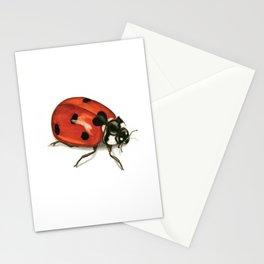 Ladybug Beetle Stationery Cards