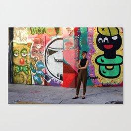Fashion & Art Canvas Print