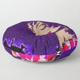 Afro Dancer Floor Pillow