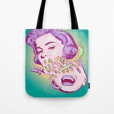 Happily melting Marilyn Tote Bag