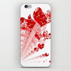 Heart - Red iPhone & iPod Skin
