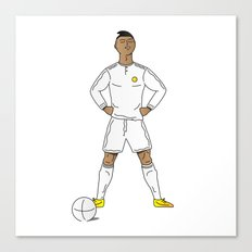 The Footballer That Could Canvas Print