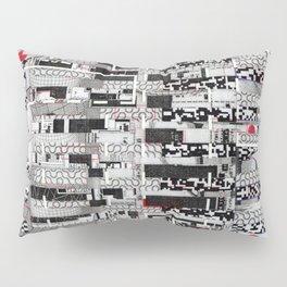 Opportunistic Species (P/D3 Glitch Collage Studies) Pillow Sham