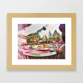 HAPPY PLACE Framed Art Print