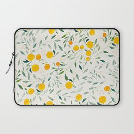 Oranges and Leaves Laptop Sleeve