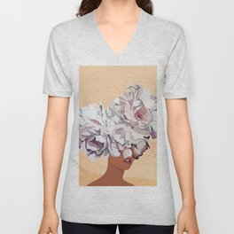 No Flower Boy Unisex V-Neck