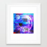 paradise Framed Art Prints featuring paradise by haroulita