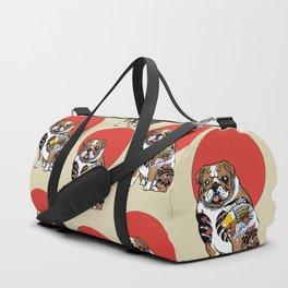 Yakuza English Bulldog Duffle Bag