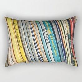 Bookcase books data education Rectangular Pillow