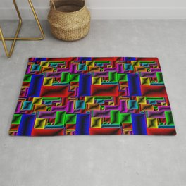 ColorBlox - Hammered Rug