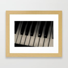 The Ivories Framed Art Print