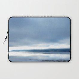 Soft winter sky Laptop Sleeve