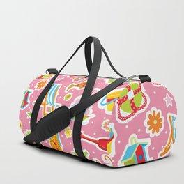 Summer Fun Pink Duffle Bag