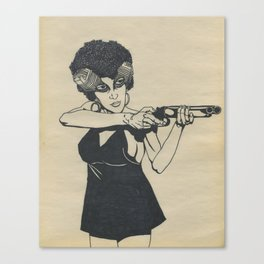 Coffy Canvas Print