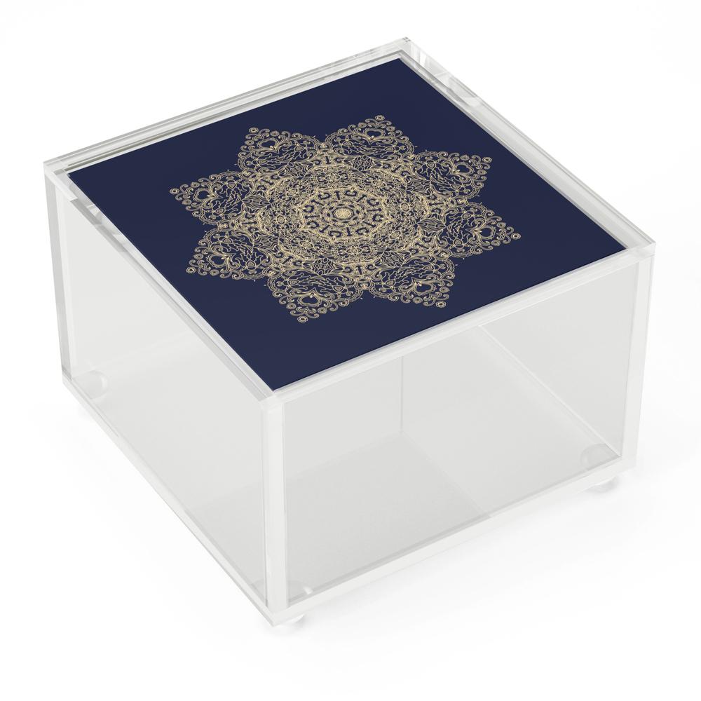 Golden_Star_Mandala_Acrylic_Box_by_dariara