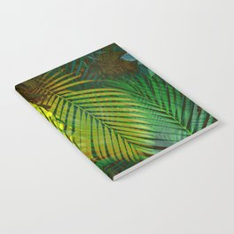 TROPICAL GREENERY LEAVES Notebook