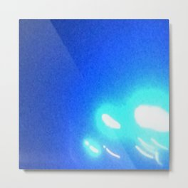 Abstracte Light Art in the Dark Version 40 Metal Print