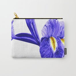 Wild Purple Van Gogh Inspired Iris Carry-All Pouch