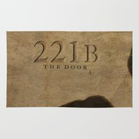 221b Area & Throw Rugs featuring No. 6. 221B by F. C. Brooks