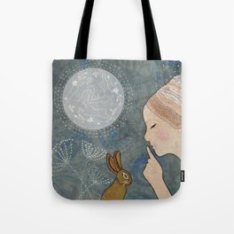 Secret of The March Moon Tote Bag