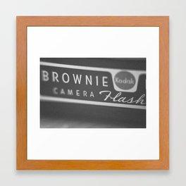 Brownie Camera Framed Art Print