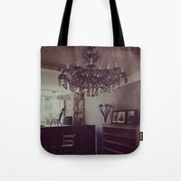 antique Tote Bags featuring Antique by Jane Lacey Smith