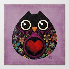 Owls Hatch Canvas Print