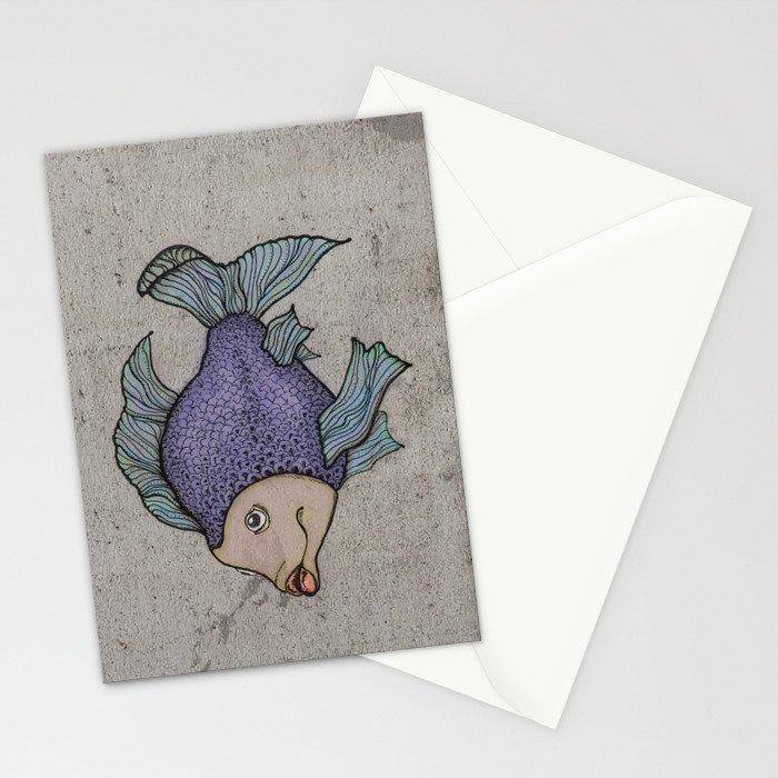 Pececitos color! II Stationery Cards
