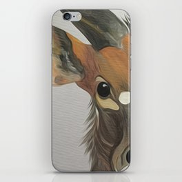 Lowland nyala iPhone Skin