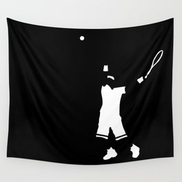 Tennis player Wall Tapestry