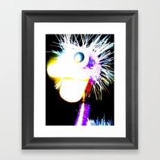 The Funky Ostrich Framed Art Print