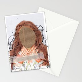debo ser yo mismo Stationery Cards