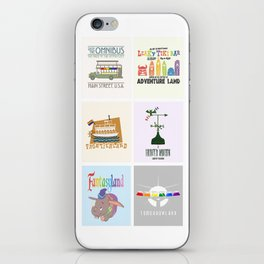 Designers United - All Six Designs iPhone Skin