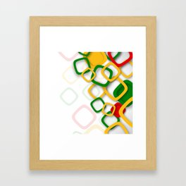 HI Framed Art Print