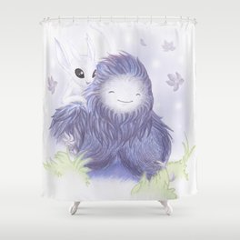 Mother & Daughter Shower Curtain