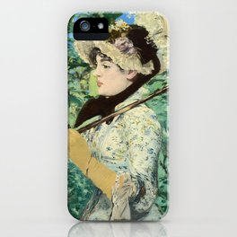 Manet's Jeanne iPhone Case