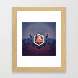 The Trickster Framed Art Print