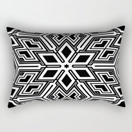 Elegant ornament snowflakes Rectangular Pillow