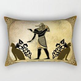 Anubis the egyptian god Rectangular Pillow
