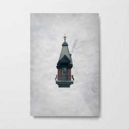 Floating house Metal Print